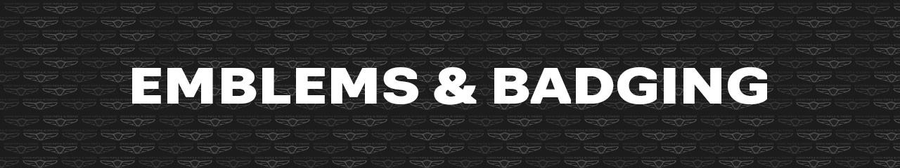 Genesis Emblems and Badging