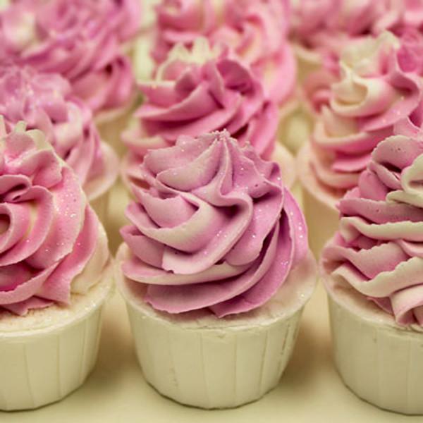 Bubble Bath Cupcakes Raspberry Vanilla