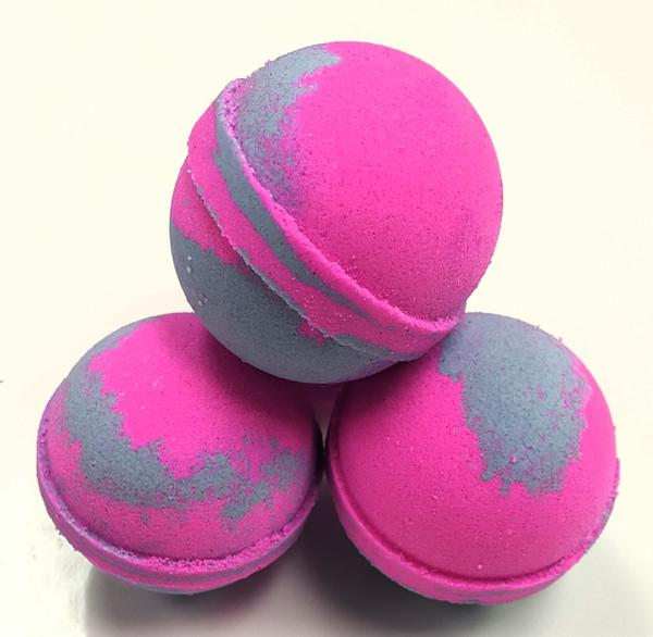 Bath Bombs-Bauble Balls~Raspberry Vanilla
