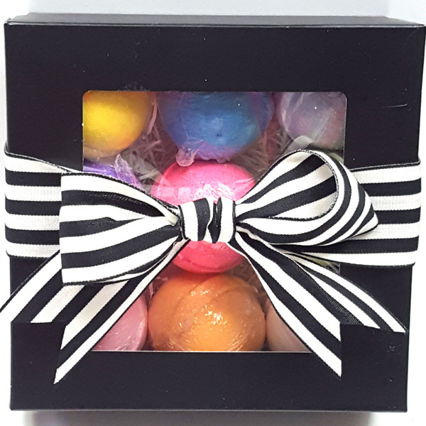 Bath Bauble Round 9 Pk Gift Box
