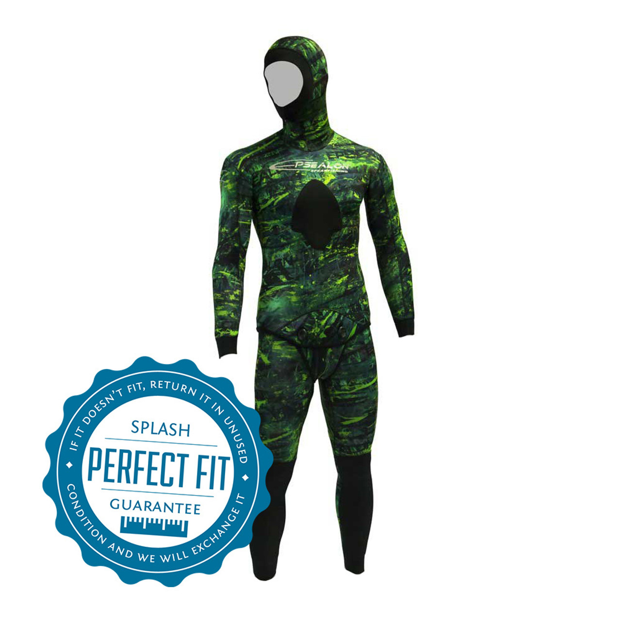 8a73f6e8830b Epsealon Green Fusion 3mm Wetsuit - Splash Dive Limited
