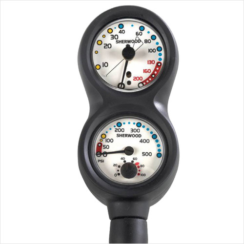 Sherwood Combo Gauge