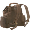 Distressed Leather Multi Pocket Back Pack