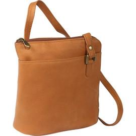 L-Zip Crossbody Shoulder Bag