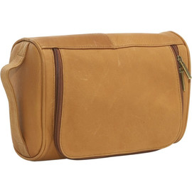 Vaquetta Leather Toiletry Bag