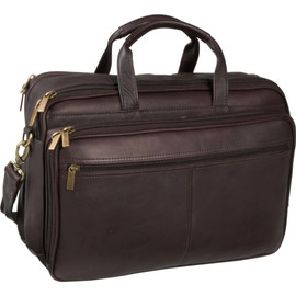 Dual Compartment Laptop Briefcase