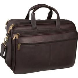 Dual Compartment Laptop Briefcase