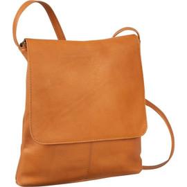 Simple Flap Over Crossbody Bag