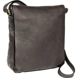 Vertical Flap Over Shoulder Bag