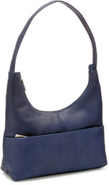 Top Zip Hobo Handbag