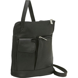 L Zip Shoulder Bag