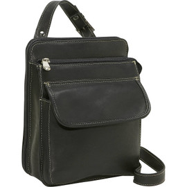 Structured Organizer Shoulder Bag