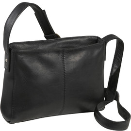 Top Zip Crossbody Bag