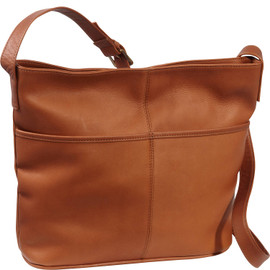 Two Slip Pocket Shoulder Bag