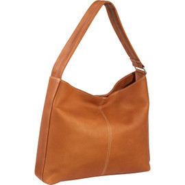 Shoulder Bag with Side Zip Pocket