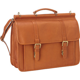 Classic Dowel Rod Laptop Briefcase