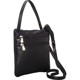 Two Zip Mini Crossbody Bag