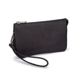 Gia Three Compartment Wristlet