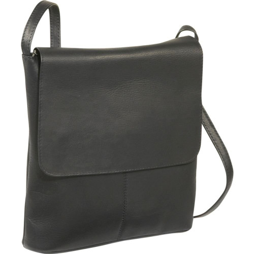 Simple Flap Over Crossbody Bag