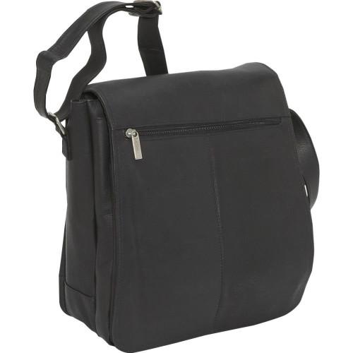 N/S Flap Over Laptop Messenger Bag