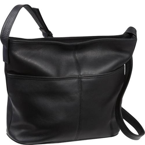 Two Slip Pocket Shoulder Bag