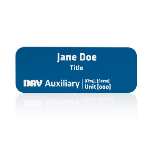 DAV Auxiliary Unit Name Badge