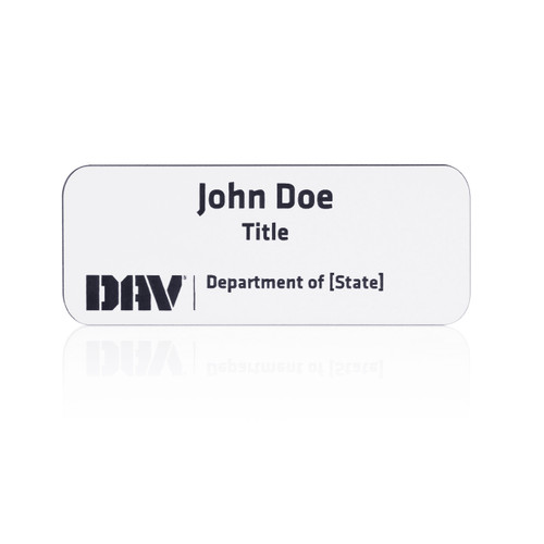 DAV Department Name Badge