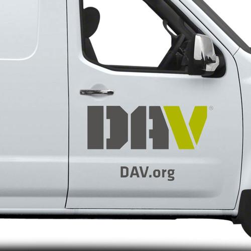 DAV Vehicle Decal