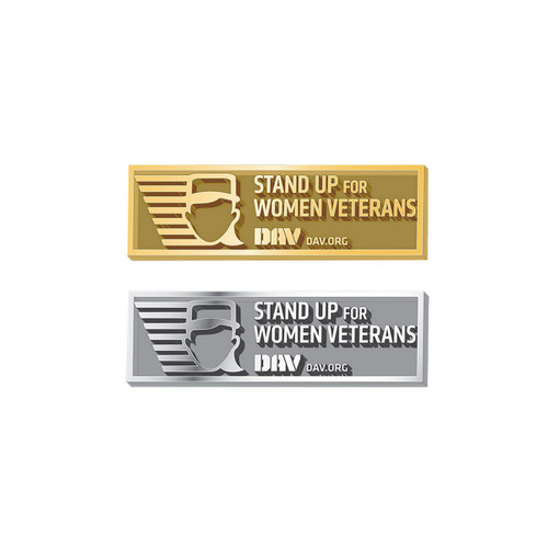 Women Veterans Pin
