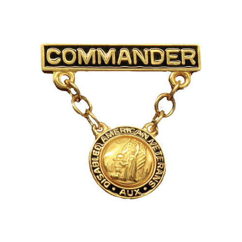 Unit Commander Bar and Pendant - Auxiliary Pin
