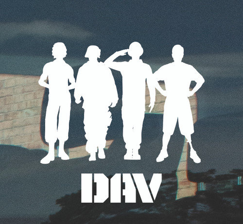 Soldier Silhouette Decal