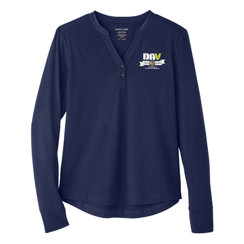 Ladies North End Performance Pullover / Navy
