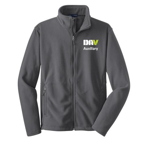 Unisex Value Fleece Jacket / Grey