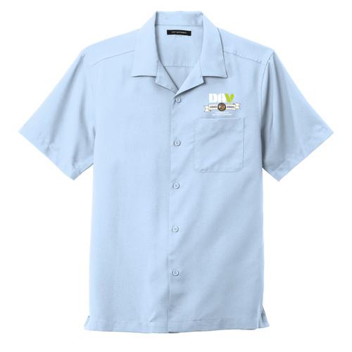 Mens Camp Staff Shirt / Light Blue