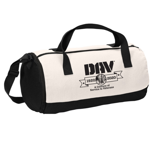 Cotton Barrel Duffel