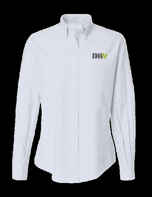 Ladies Core Twill Shirt / White