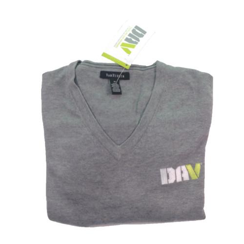 Men's V-Neck Sweater / Grey
