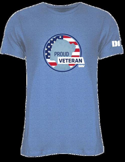 Women's Veteran Tee / Blue