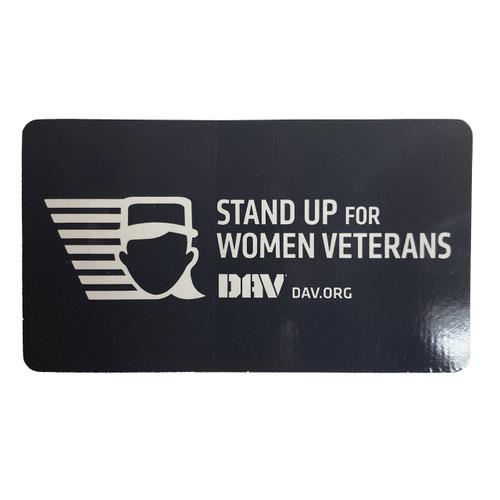 Women Veterans Decal