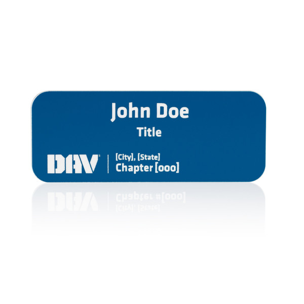 DAV Chapter Name Badge