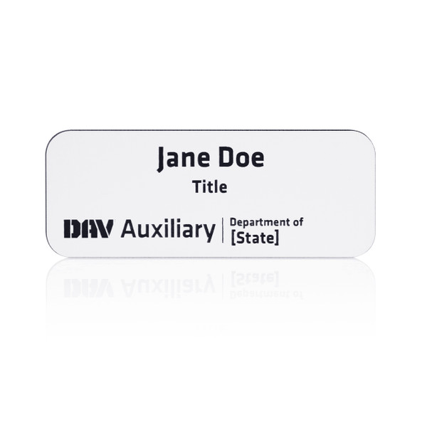 DAV Auxiliary Department Name Badge