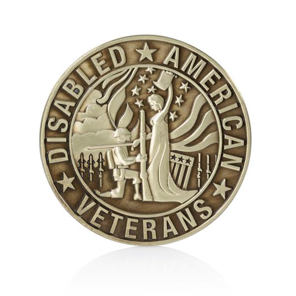DAV Coin - Bronze Medallion