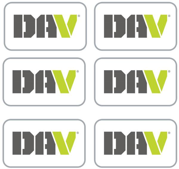 DAV Lapel Pin / 6 Pack