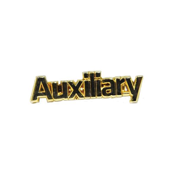 Gold-Finish Pin - Auxiliary Pin