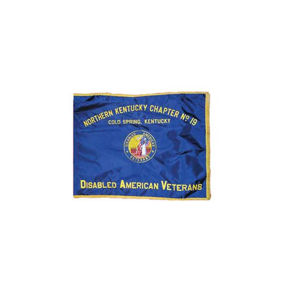 Custom Embroidered Flag
