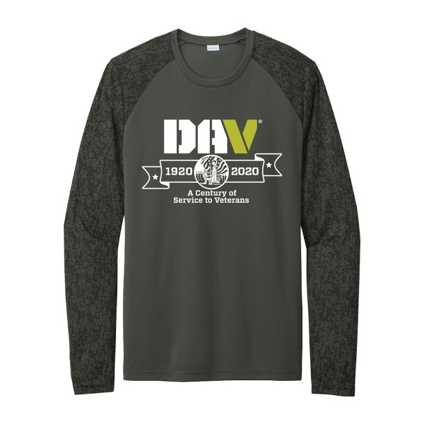 Dri-Fit Digi Camo Long Sleeve Tee