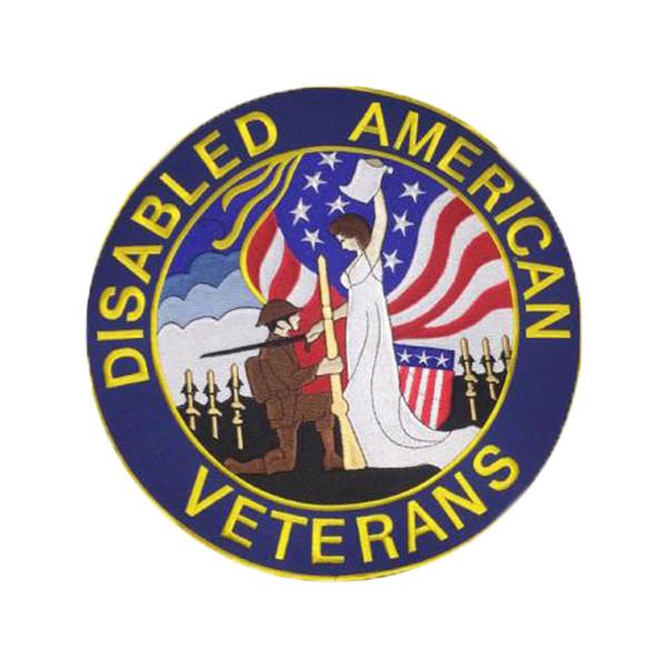 "3"" DAV Embroidered Emblem"