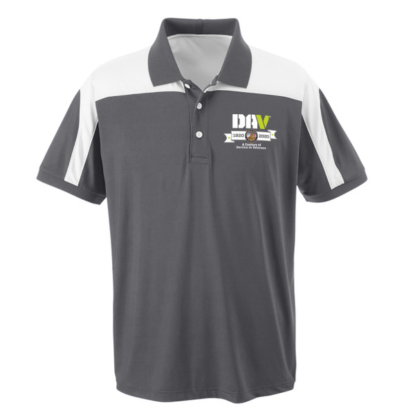 Victor Performance Polo / Grey White