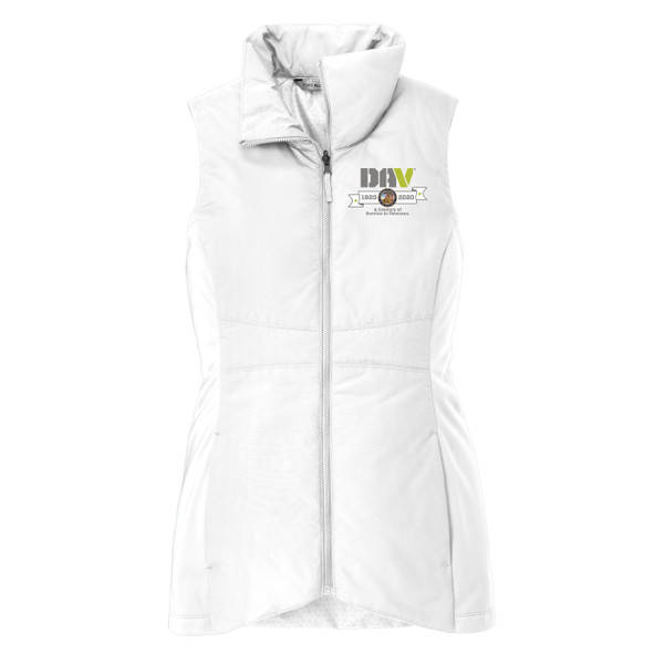 Ladies Collective Insulated Vest / Grey