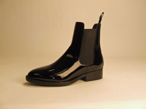 CHILD'S BLACK PATENT LEATHER BOOTS by SMOKY MOUNTAIN